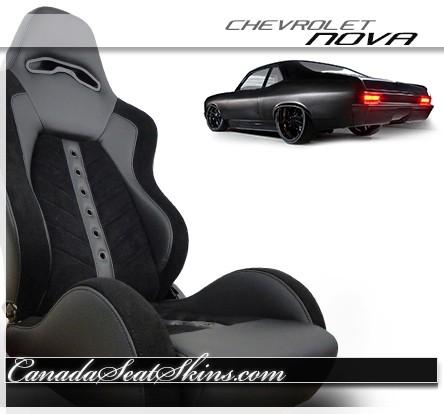1968 - 1972 Chevrolet Nova VXR Villain Pro Series Bucket Seats