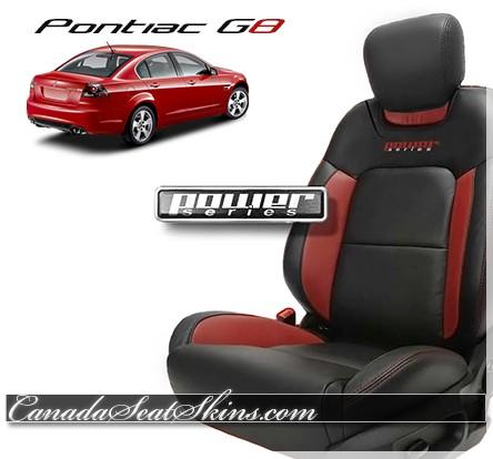 2008 - 2009 Pontiac G8 Leather Seats