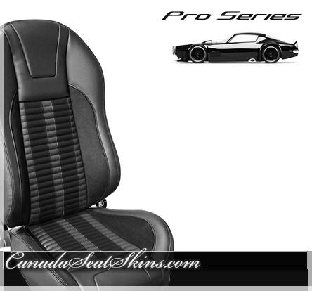 TMI Pro Series R500 Custom Bucket Seats in Black