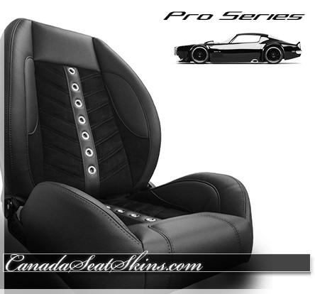 TMI VXR Pro Series Restomod Low Back Bucket Seats