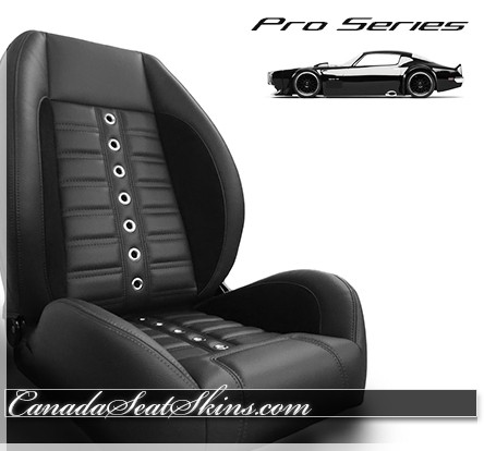 TMI Pro Series Sport XR Restomod Bucket Seats Black
