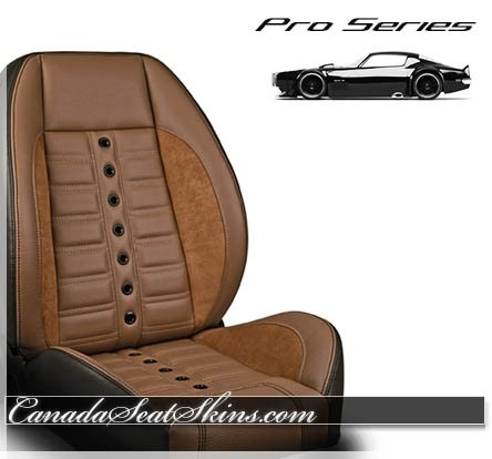 TMI Pro Series Saddle Brown Sport XR Restomod Seat