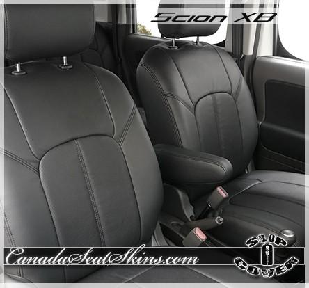 Scion XB Clazzio Seat Covers Black