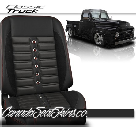 Pro Series Sport XR Truck Restomod Bucket Seats in Silver