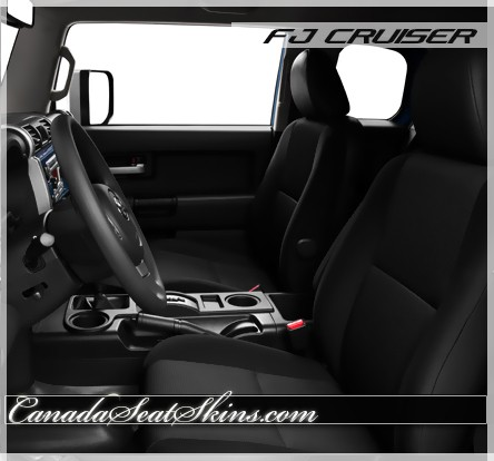 Toyota FJ Cruiser Katzkin Custom Leather Upholstery