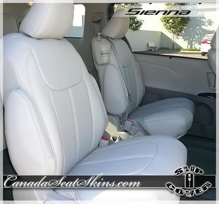 Seat Covers 2011 2016 Toyota Sienna Clazzio Slip