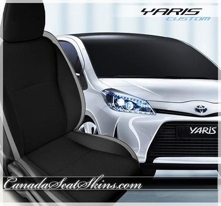 2012 - 2016 Toyota Yaris Katzkin Leather Seats