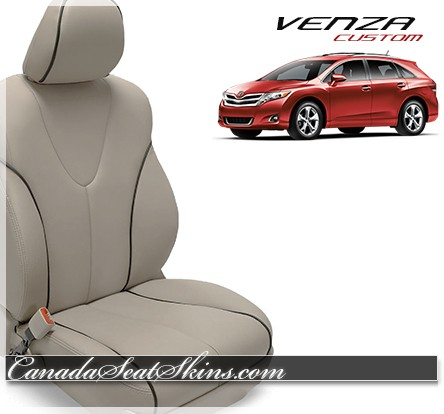 2009 - 2015 Toyota Venza Katzkin Leather Interior