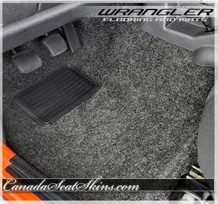 2007 - 2015 Jeep Wrangler Replacement Carpet