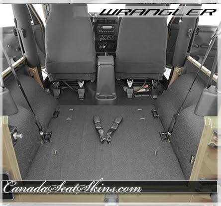 2007 - 2017 Jeep Wrangler Replacement Carpet Kits