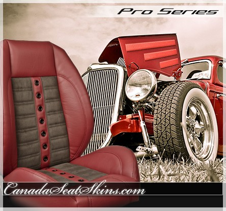 Sport XRS Hot Rod Seat in Wine Red with Dark Taupe