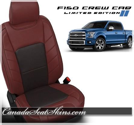 2015 2018 ford f150 limited edition katzkin leather seats - Custom leather interior for trucks ...