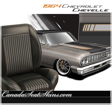 1964 Chevelle Sport R Upholstery and Seat Foam Kit