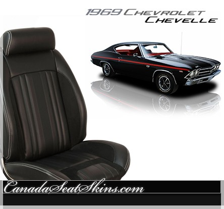 1969 Chevelle Sport R Upholstery Conversion