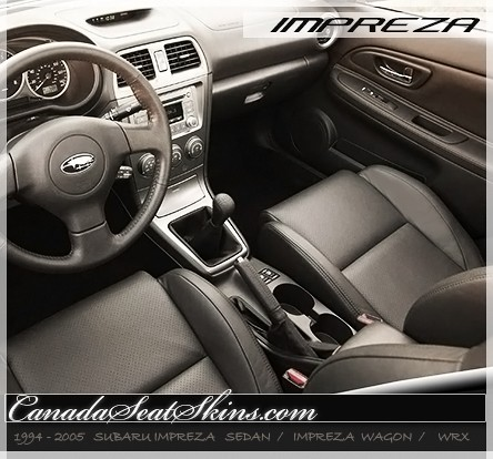 1994 2005 Subaru Impreza And Wrx Custom Leather Upholstery