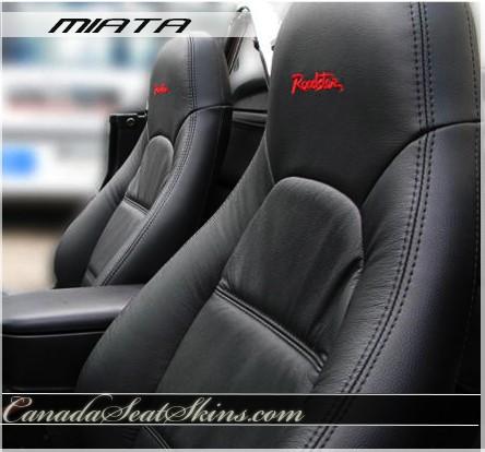 Mazda Miata Katzkin Leather Seats on 2001 Volvo Custom S