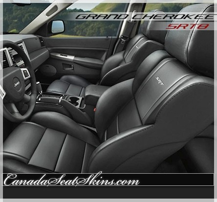 2008   2010 Jeep Grand Cherokee SRT8 Katzkin Leather Seats ...