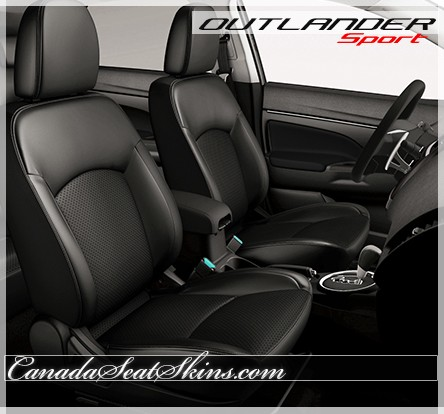 2011 - 2019 Mitsubishi Outlander Sport Custom Leather Upholstery