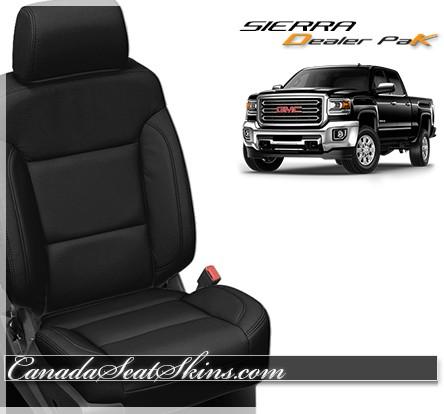 2014 2018 gmc sierra dealer pak leather interiors rh canadaseatskins us gmc truck seats replacement gmc truck seats for sale with gmc logo