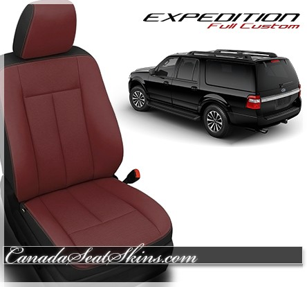 Ford Expedition Custom Leather Seats