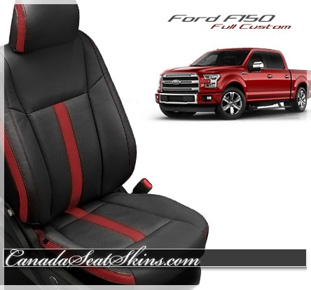 Seat Skins For Trucks >> 2015 - 2018 Ford F150 Custom Leather Upholstery