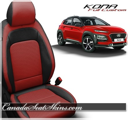 2018 - 2019 Hyundai Kona Custom Leather Upholstery