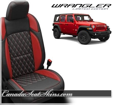 2018 - 2019 Jeep Wrangler Katzkin Tekstitch Custom Leather ...
