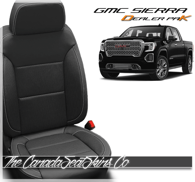 2019 2020 Gmc Sierra Dealer Pak Leather Upholstery