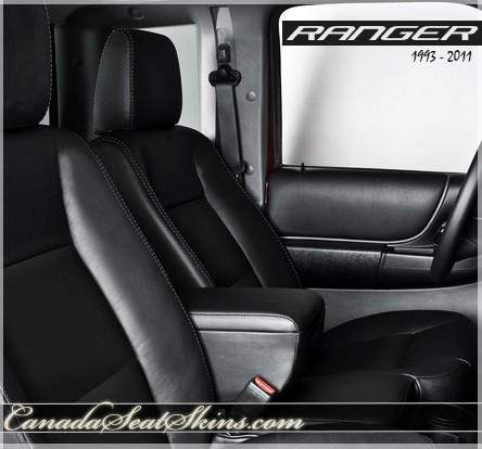 1993 - 2011 Ford Ranger Katzkin Custom Leather Upholstery