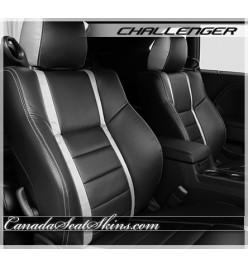 2009 - 2014 Dodge Challenger Katzkin Black Limited Edition Leather Seats