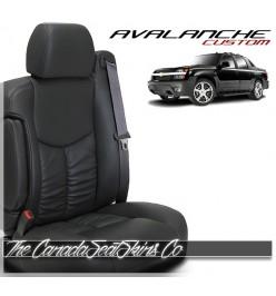 2002 - 2006 Chevrolet Avalanche Katzkin Custom Leather Seat Sale
