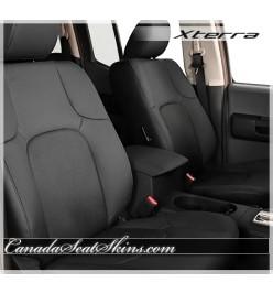 Nissan Xterra Black Katzkin Leather Seats