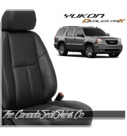 2007 - 2014 GMC Yukon Dealer Pak Replacement Leather Seat Package