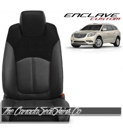 2007 - 2017 Buick Enclave Custom Katzkin Replacement Leather Seat Cover Sale
