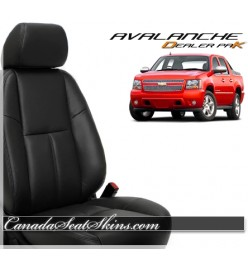 2007 - 2013 Chevrolet Avalanche Dealer Pak Leather Upholstery