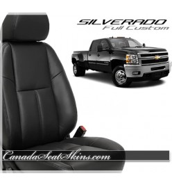 2007 - 2013 Chevrolet Silverado Katzkin Custom Leather Seats