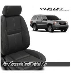2010 - 2014 GMC Yukon Katzkin Limited Edition Carbon Leather Seat Sale