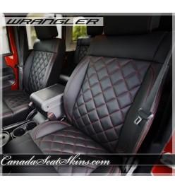 Jeep Wrangler Diamond Stitched Leather Kit