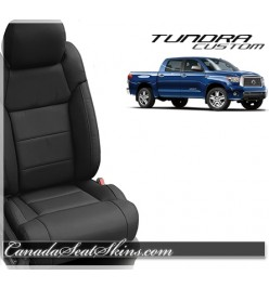 2014 - 2019 Toyota Tundra Katzkin Black Leather Seats