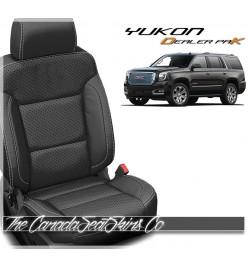 2015 - 2020 GMC Yukon Katzkin Dealer Pak Leather Seat Cover Promo