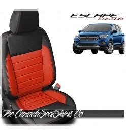 2017- 2019 Ford Escape Katzkin Custom Leather Seat Covers