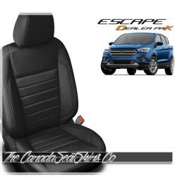 2017 - 2019 Ford Escape Katzkin Black Dealer Pak Promo Leather Kits