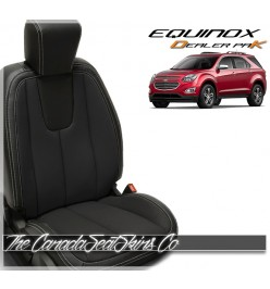 2010 - 2017 Equinox Black Wholesale Replacement Leather Seat Cover Kit