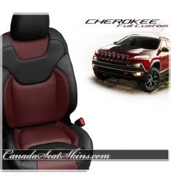 2014 - 2017 Jeep Cherokee Katzkin Leather Seats