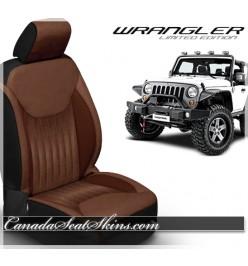 2013 - 2018 Jeep Wrangler Katzkin Aviator Limited Edition Leather Seats