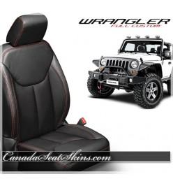 2013 - 2017 Jeep Wrangler Katzkin Custom Leather Seats