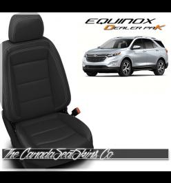 2018 - 2020 Chevrolet Equinox Katzkin Dealer Pak Leather Kits Black