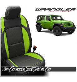 2018 - 2020 Jeep Wrangler JL Custom Leather Seats
