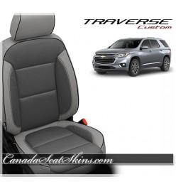 2018 - 2020 Chevrolet Traverse Katzkin Custom Leather Interior