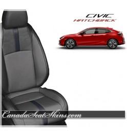 2017 2018 2019 Honda Civic Hatchback Katzkin Leather Seats